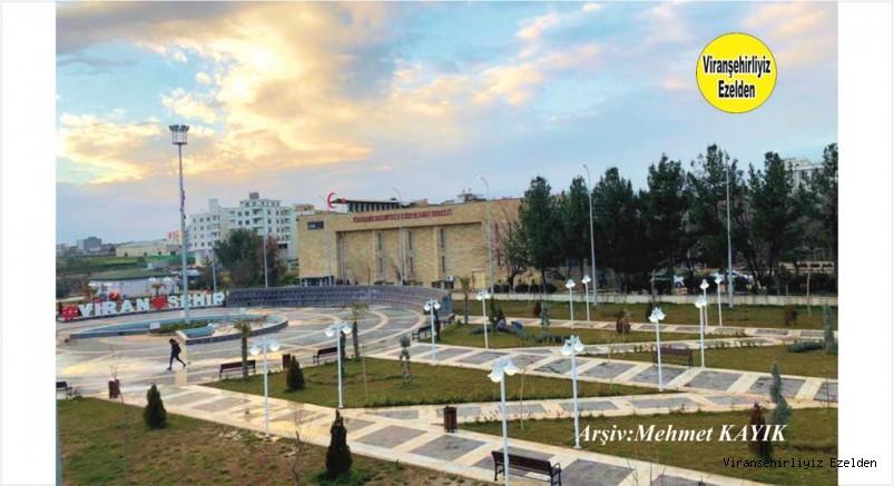 Viranşehir Eski Otogar Yerine Yapılan Belediye Parkı