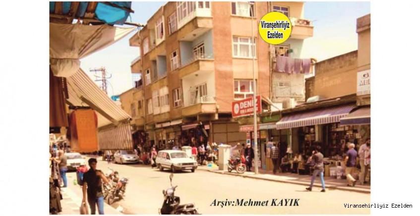 Viranşehir Eski Urfa Caddesinin Bayram Öncesi Çekilmiş Bir Fotoğraf