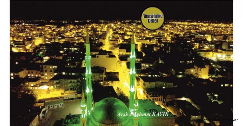 Viranşehir Gölbaşi Camisine Ait Gece Çekilmiş Bir Fotoğraf