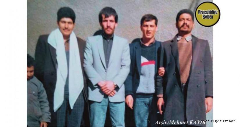 Viranşehir Gölbaşı Mahallesi Eski Muhtarı Merhum Nuri Parlak, Mustafa Yaver, Mehmet Özalp ve Hasan Yeşilgöz