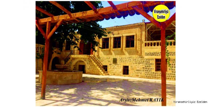 Viranşehir Gölbaşı Mahallesi Tarihi Kayalar Konağı