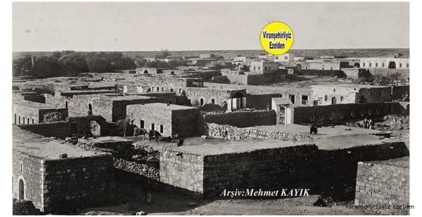 Viranşehir Gölbaşı Mahallesinin 1910 Yılında çekilmiş Bir Fotoğrafı