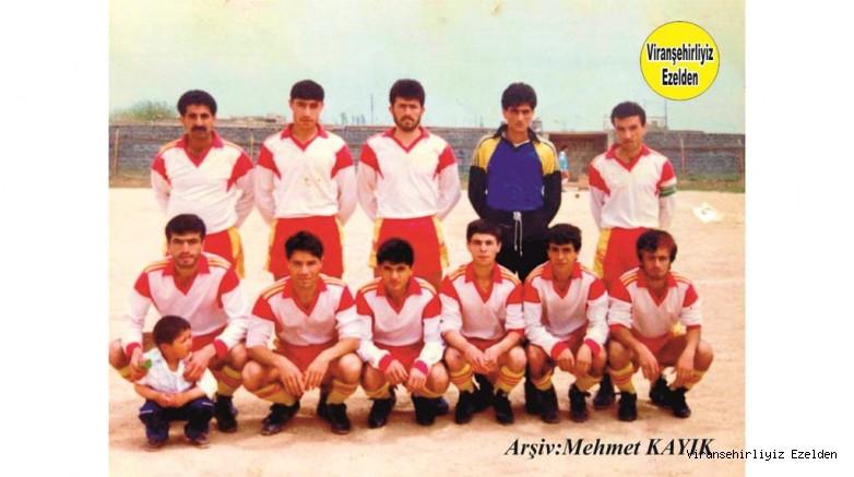 Viranşehir İdmanyurdu Futbol Takımı Sakıp Tiyesti, Nezir Ertem, Mehmet Pelen, Mevlüt Sevim(Kaleci), Ahmet Saçıkırmızı(Kaptan),