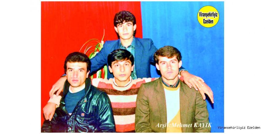 Viranşehir'in Eski Futbolcularından, Sertaç Orman, Halil Dişçi, Garip Çalbay ve Ahmet Saçıkırmızı