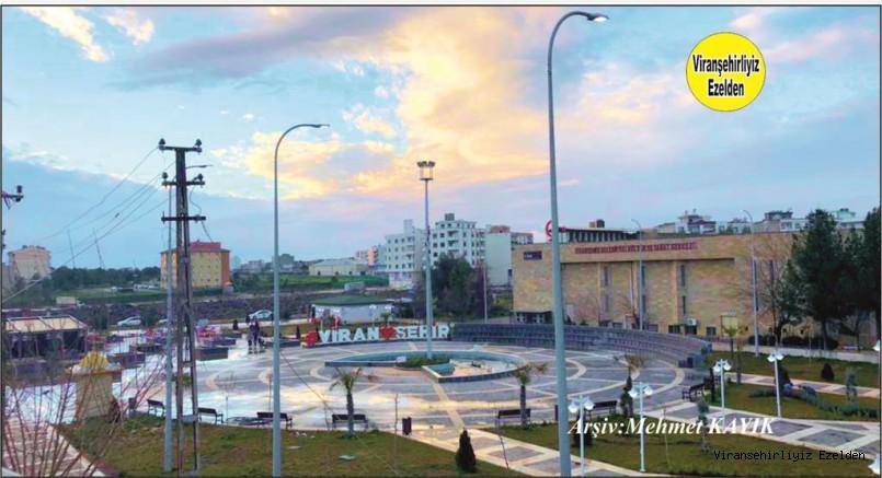 Viranşehir İpekyolu Üzerinde Bulunan Belediye Parkı