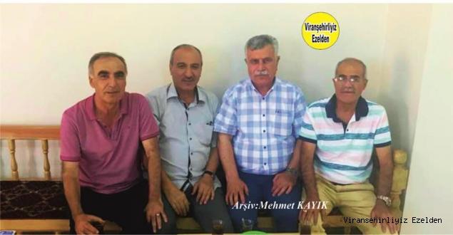 Viranşehir Lisesinde Birlikte Okumuş, Merhum Hasan Gören, Ömer Sağır, Mahmut Turgut ve Mehmet Behlül