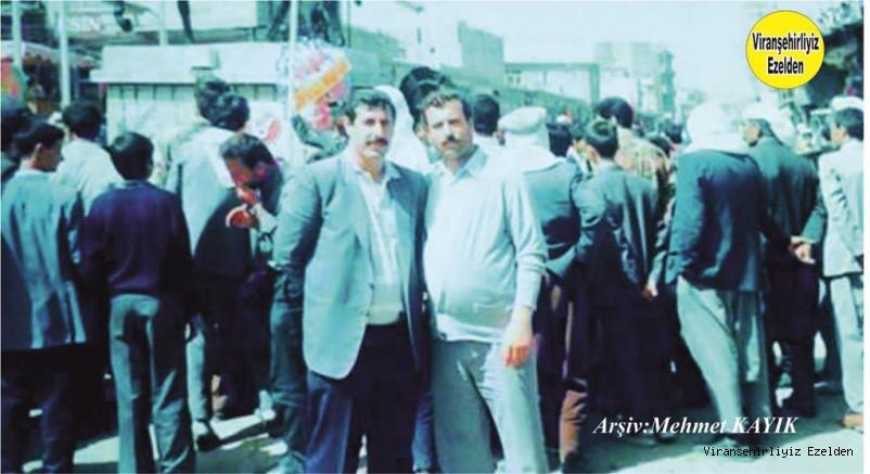 Viranşehir otogarının Sevilen İsimlerinden olan Merhum Hasan Yumru ve Hacı Ahmet Ezberci