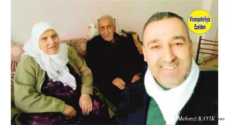 Viranşehir sanayi Sitesinin Değerli Usta Esnaflarından olan, Hacı Mahmut Çuhacı, Eşi Hacı Hamdiye Çuhacı ve Yeğeni Servet Taşçı