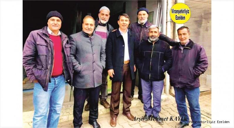 Viranşehir Sanayi Sitesinin Değerli Ustalarından Abdullah Beşer, Mustafa Bayrak, Mustafa Tatar ve Arkadaşları