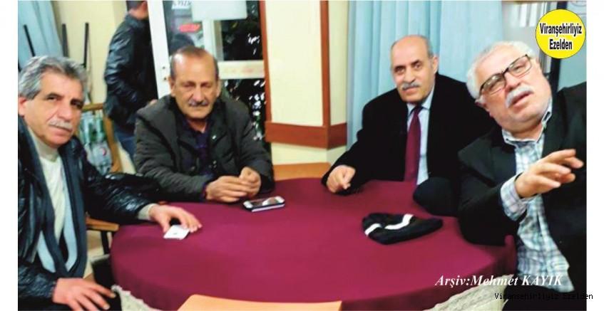 Viranşehir Sümerbank Emekli Müdürü Ahmet Kaplan, Emekli Öğretmen Fahri Kaya, Kemal Alu ve Ali Bahçalı