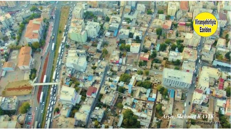 Viranşehir Yenişehir Mahallesine Ait Drone ile Çekilmiş Bir Fotoğrafı