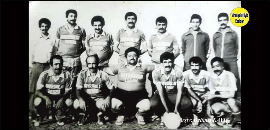 Viranşehirspor Eski Bir Kadrosu