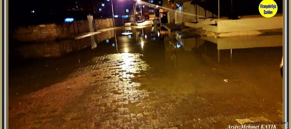 Yenişehir mahallesi 12. Cadde Su İle Kaplandı
